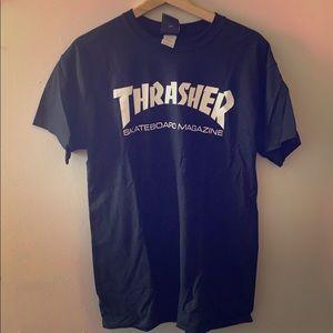 Thrasher Skate Magazine Black Tee